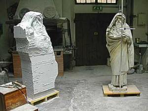 Creating a Copy in Carrara Marble