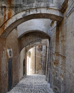Explore the ancient walkways into the Sassi