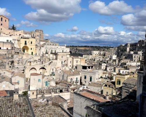 UNESCO World Heritage Site - Stones of Matera