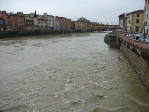 Acqua Alta in the Arno