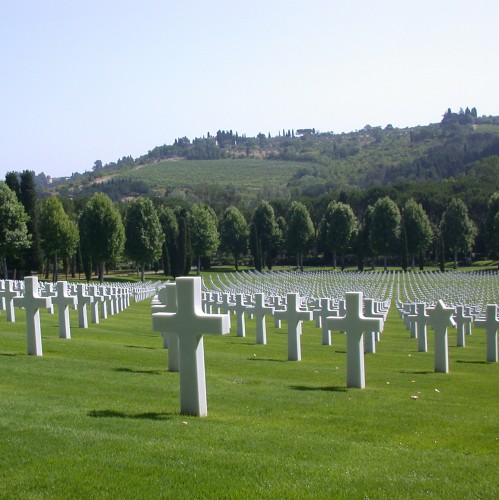 American Cemetery in the Tuscan Hills