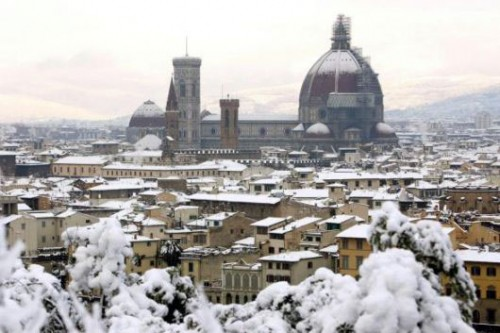Duomo in the snow December '05