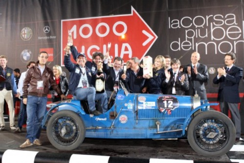 2009 Mille Miglia Winning Car