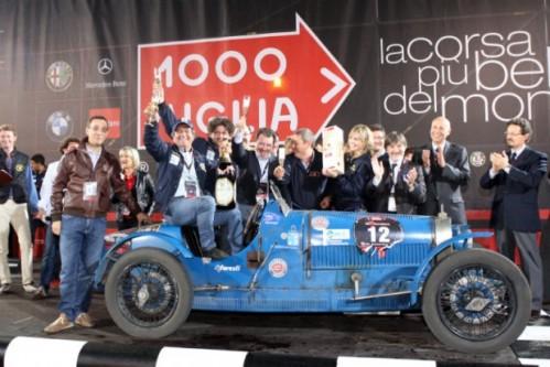 2009 Mille Miglia Winning Car
