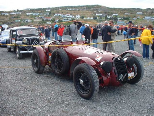 Winner of Mille Miglia 2008 - 1928 Alfa Romeo 6C 1500 Super Sport