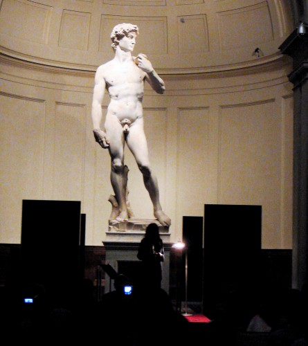 Patti Smith at the Accademia