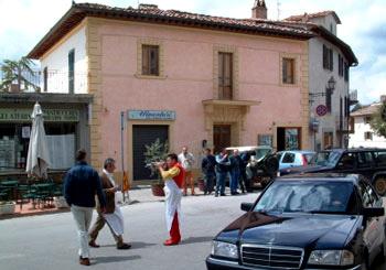 Dario greets the Mille Miglia