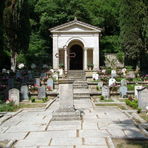 The La Foce Cemetery for the Origo and Estate Families