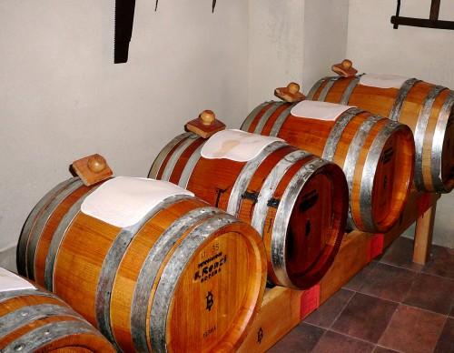 Casks used to ferment Traditional Balsamic Vinegar