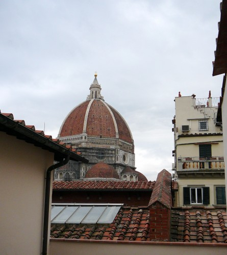 Views from the top floor of La Biblioteca delle Oblate