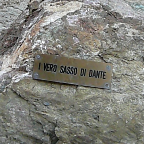 """I Vero Sasso di Dante"" The True Stone of Dante"