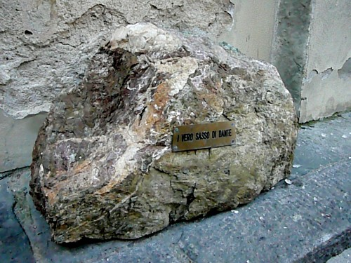 Modern version of Dante's stone