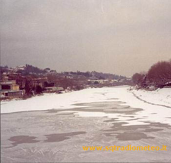 The Arno frozen - January 10, 1985
