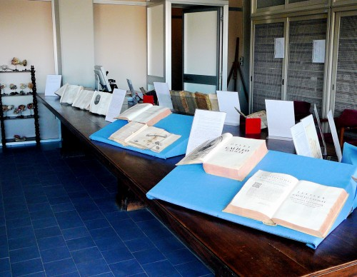 Exhibition of Galileo First Editions at Florence's Biomendical Library