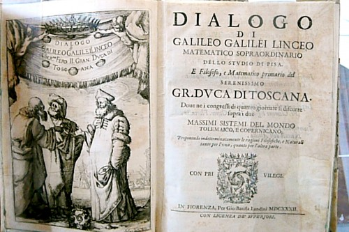 Galileo in dialogue with Copernicus and Ptolemy