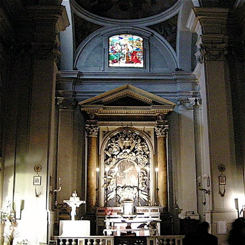Altar of the church of Santa Maria de'Ricci
