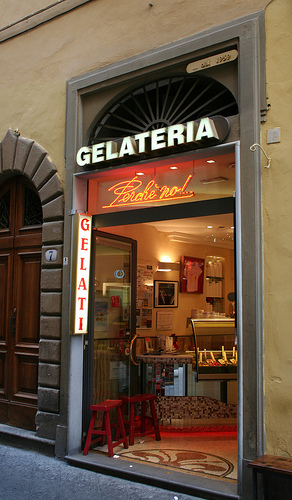 Why not? Gelaterias are open until midnight in the summer