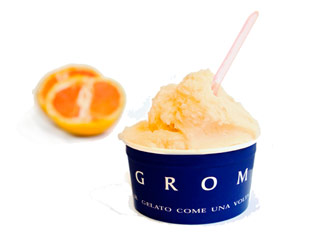 Grom changes its gelato menu every month