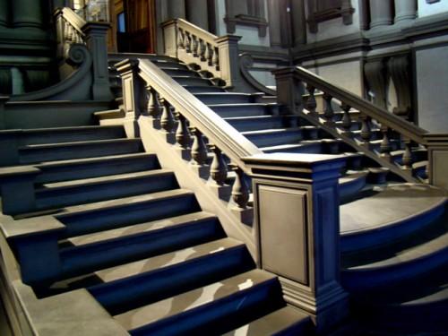 Stairway in the Vestibule of the Laurentian Library