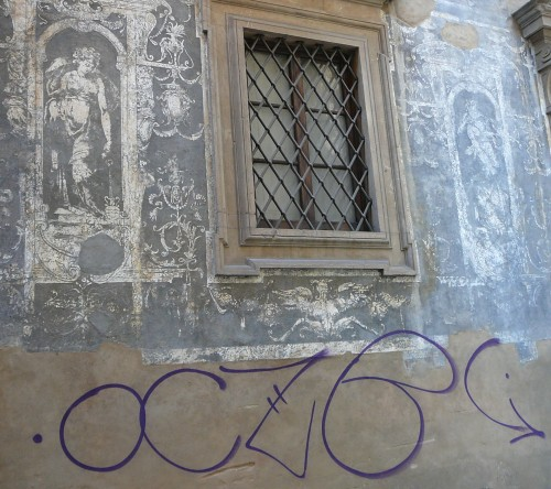 16th century graffiti meets 2010 graffiti
