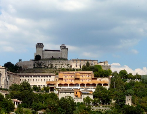 Rocca Albornoziana - the fort guarding Spoleto