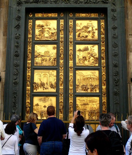 Replica of Doors of Paradise are just as popular now as the original in 1452