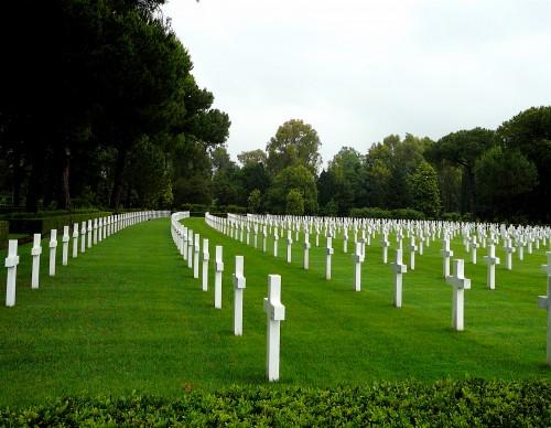 American Sicily-Rome WW II Cemetery at Anzio/Nettuno