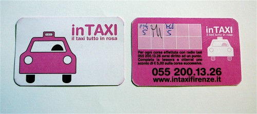 Frequent Rider Card for InTaxi Service