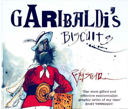 Garibaldi Biscuits by Artist Ralph Steadman
