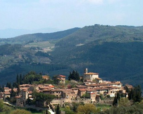 Montefioralle - one of the small hill towns of Tuscany