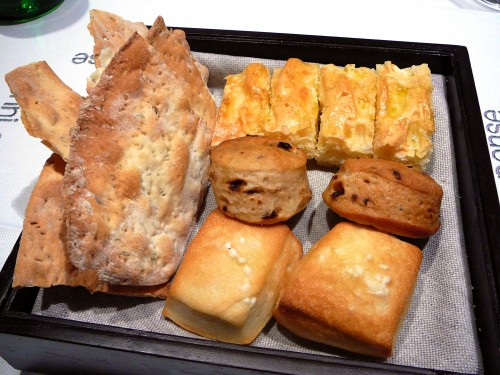 Ora d'Aria selection of breads