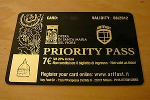 Priority Pass to skip the line at 5 locations in Piazza del Duomo