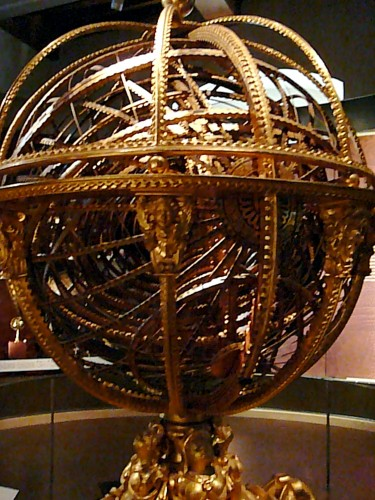 Ptolemaic armillary took 5 years to build