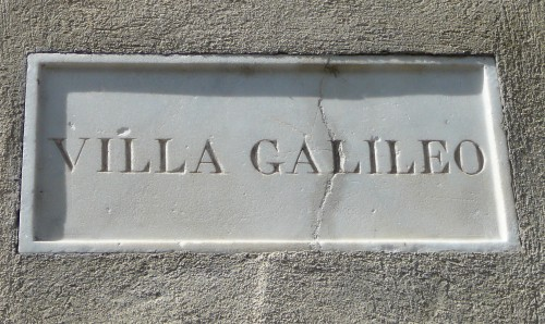 Villa il Gioielli is now known as Villa Galileo