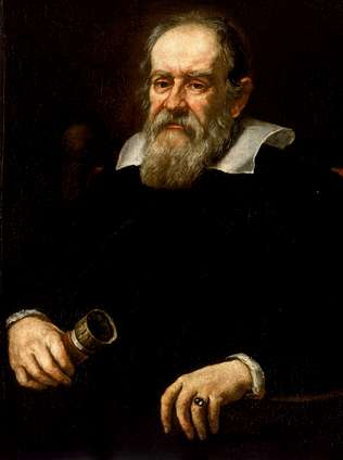 Portrait of Galileo by Giusto Sustermans