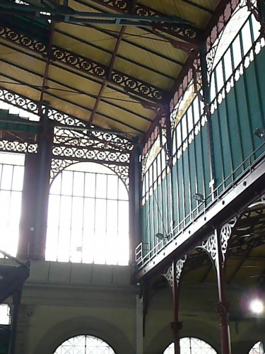 The top of the 1865 Central Market