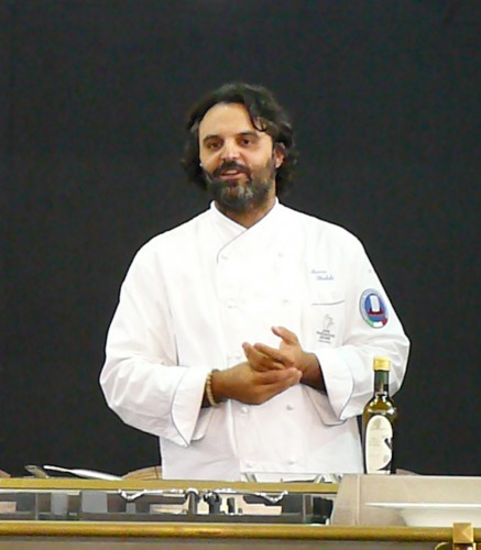 Chef Marco Stabile presents at Wine Town
