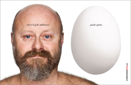 Paolo Paris and his egg from PaoloParisi.it