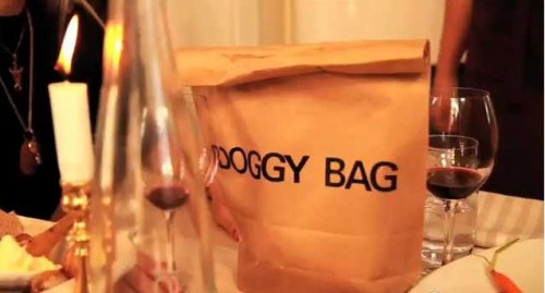 Sweden's doggy bag campaign