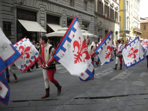 The Flag Wavers need the flexibility of calzemaglia