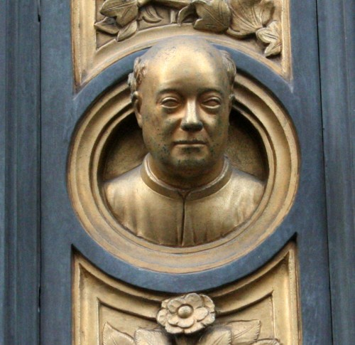 Tuscan traveler s tales ghiberti s gates of paradise on - Porta battistero firenze ...