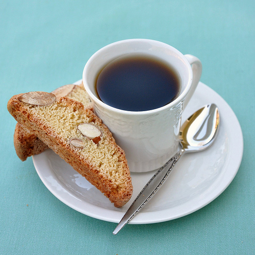 Biscotti and Coffe is a violation of the Italian Food Rule