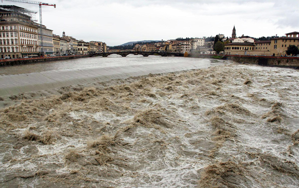 Now when were we going to dredge the Arno channel?