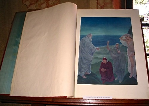 19th century copy of the Paradiso from Dante's Divine Comedy