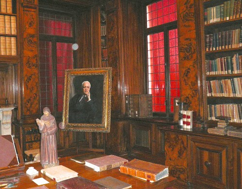 Professor Putti's office is now one of the most famous collections of historic orthopedic texts