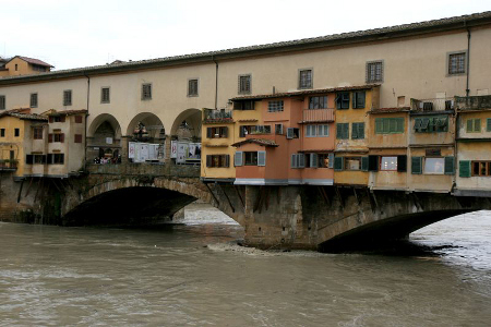 Time to get the gold and silver out of the Ponte Vecchio shops?