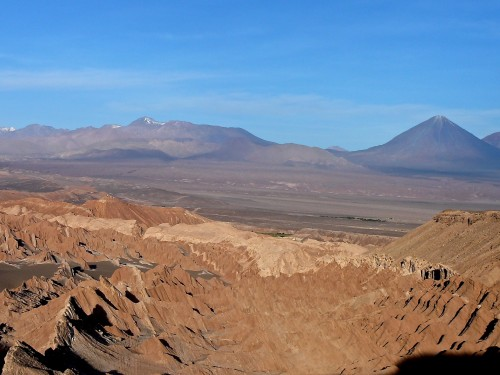 The Valley of the Dead leads to an ancient volcano