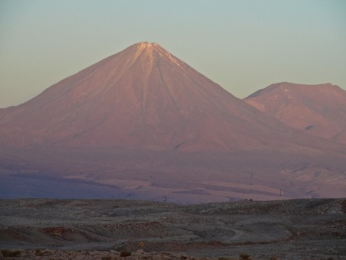 A sleeping volcano known as Licancabur