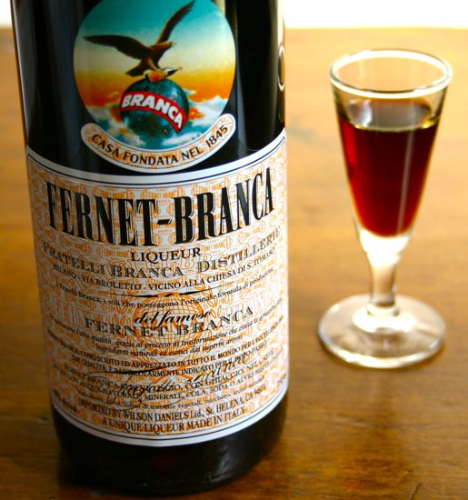 Frenet-Branca is the most internationally renown Italian amaro