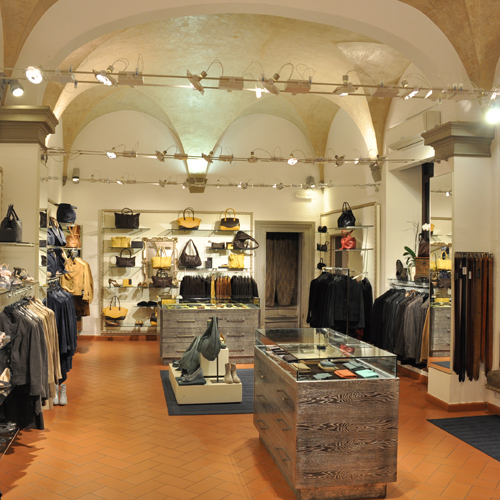 Inside Casini Firenze located in Piazza Pitti